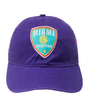 MTS MIAIMI WATERPOLO BASEBSALL CAP PURPLE