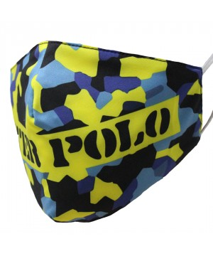FM-Camouflaged Water Polo YB Face Mask