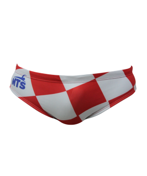 Suit MTS Croatia Square Swimwear, Swim Briefs for swimmers, Water Polo, Underwater hockey, Underwater rugby