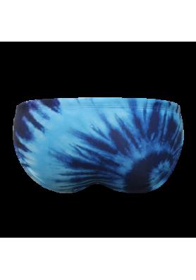 Suit MTS Tye Dye Blue Swimwear, Swim Briefs for swimmers, Water Polo, Underwater hockey, Underwater rugby