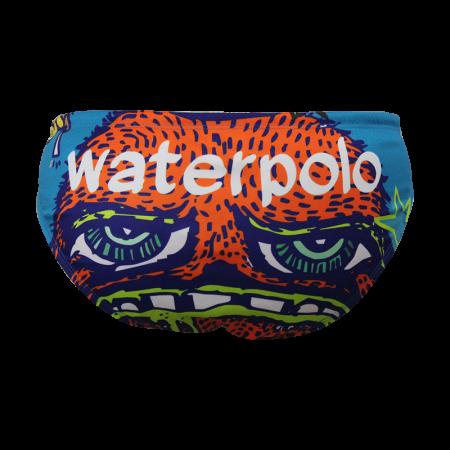 Suit Waterswim Orange Face Swimwear, Swim Briefs for swimmers, Water Polo, Underwater hockey, Underwater rugby