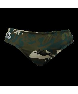 Suit Waterswim Camuflaged Navy Swimwear, Swim Briefs for swimmers, Water Polo, Underwater hockey, Underwater rugby