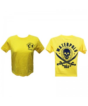 T SHIRT KID SIZE YELOW