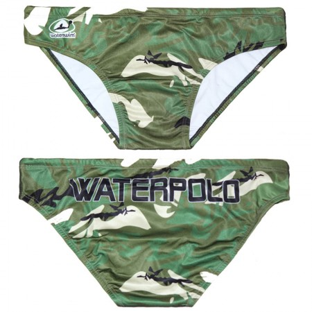 WATERSWIM MENS ARMY WATER POLO SUIT