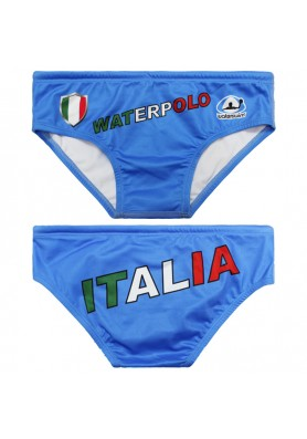 WATERSWIM MENS ITALIA FLAG WATER POLO SUIT