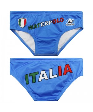 WATERSWIM MENS ITALIA FLAG WATER POLO SUIT