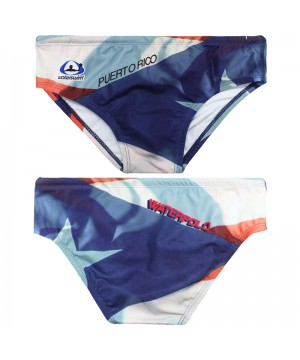 WATERSWIM MENS PUERTO RICO WATER POLO SUIT