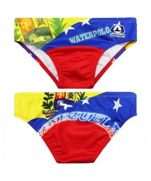 WATERSWIM MENS VENEZUELA FLAG WATER POLO SUIT