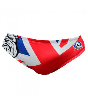 Suit Waterswim England Bulldog Swimwear, Swim Briefs for swimmers, Water Polo, Underwater hockey, Underwater rugby